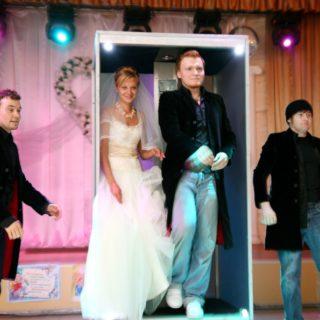 Иллюзионисты братья Сафроновы на свадьбе