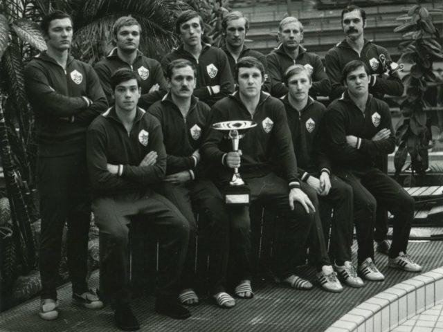 Суперкубок по водному поло. Любляна, 11 декабря 1976 года