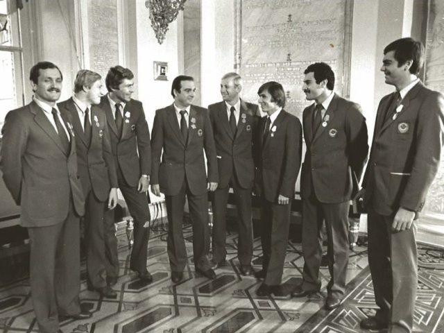 Награждение Олимпийской сборной в Кремле