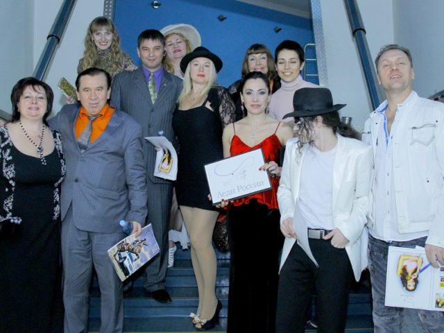 Члены жюри конкурса красоты
