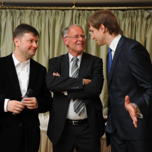 Роман Акимов и Йозеф Канарис