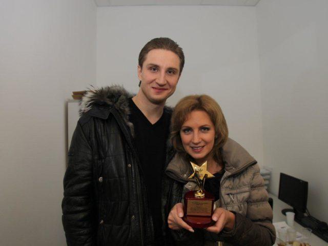 Роман и Екатерина Акимова с новой наградой