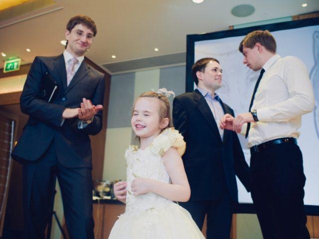 Дети на эко свадьбе