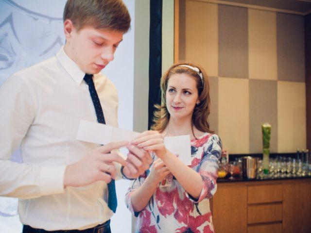 Екатерина Акимова на свадьбе