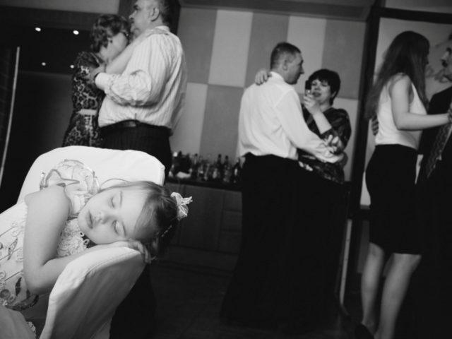 Забавный эпизод на свадьбе в Давосе