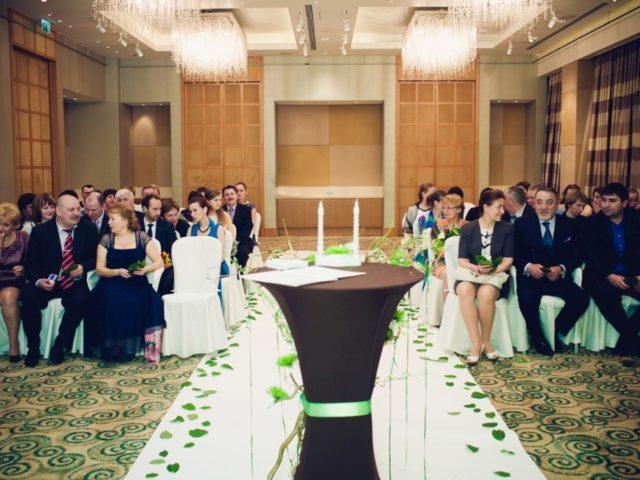 Выездная церемония бракосочетания в Цюрихе