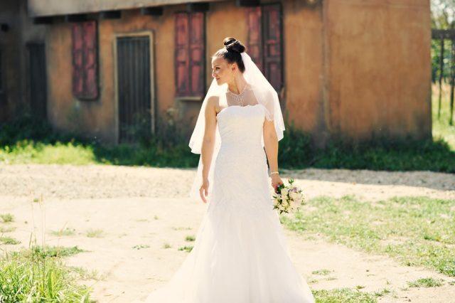 Фотосессия невесты в Канзас-сити