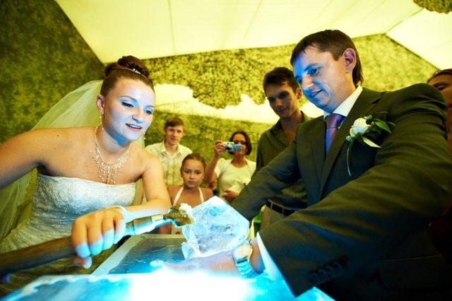 Необычный маршрут свадебного дня