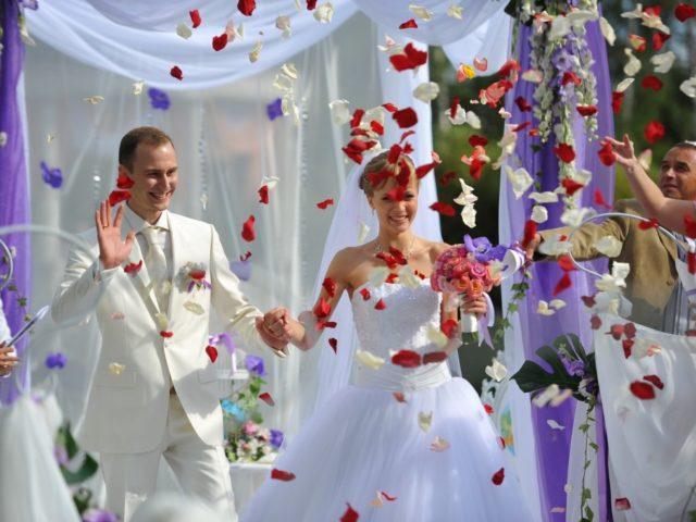Выездная церемония бракосочетания в Дворянском Гнезде