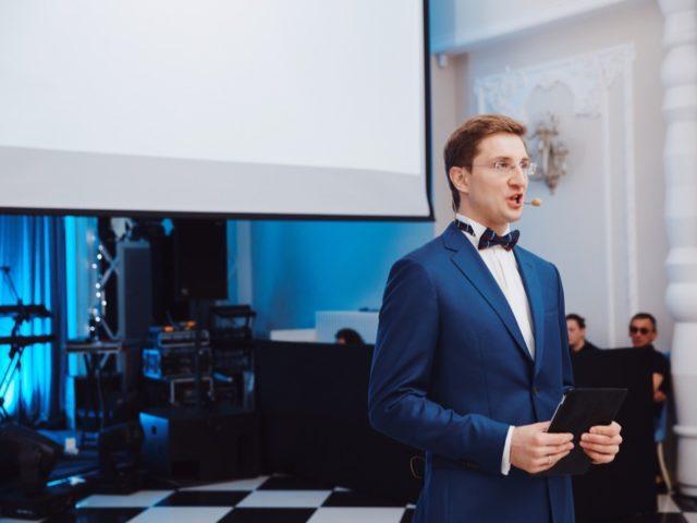 Ведущий на свадьбе в ресторане «О'Шалей»