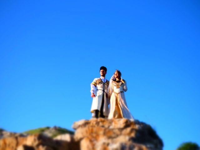Свадебная фотосессия на Кавказе