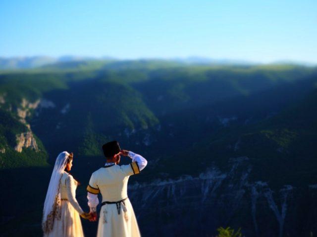 Свадьба на Кавказе, фотосессия