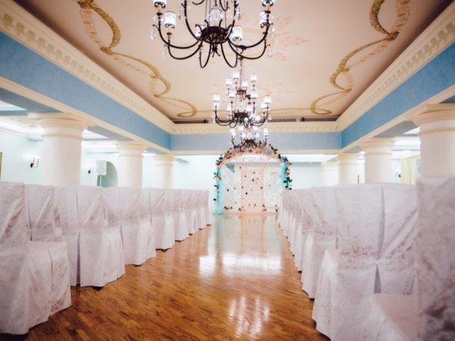 Колонный зал гостиницы Украина