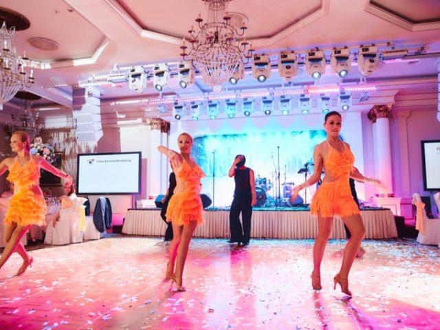 Артисты на свадьбе в гостинице Украина