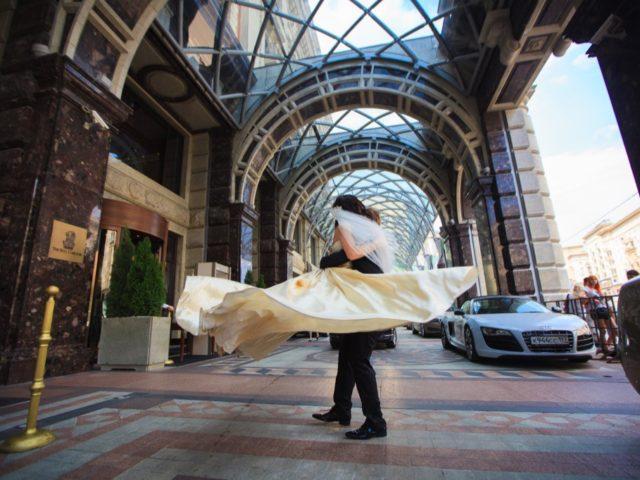 Свадьба в отеле Ритц Карлтон