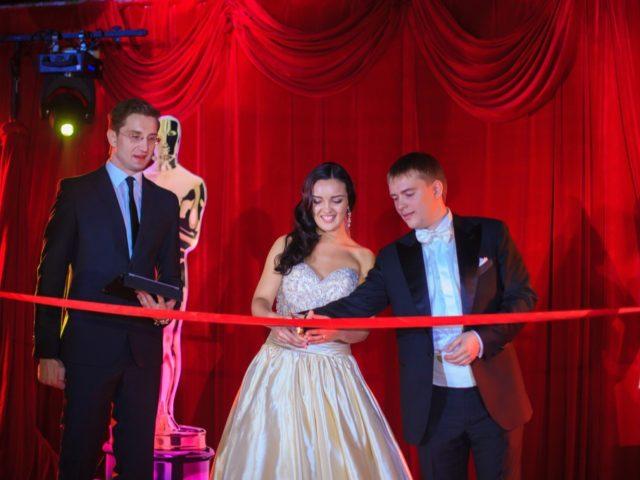 Открытие свадьбы в стиле Оскар