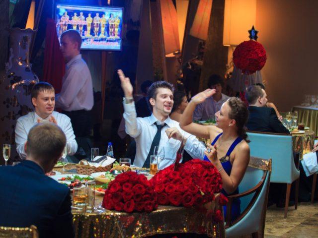 Интерактивы на свадьбе Оскар