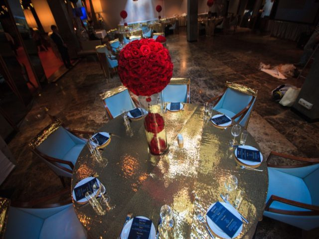 Декор свадьбы в стиле Оскар