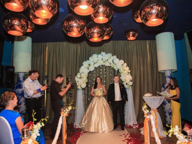 Свадьба в отеле Mamasion Pokrovka