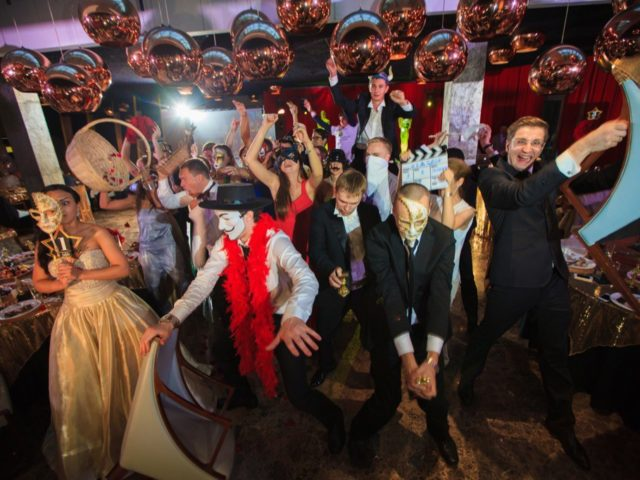 Флешмоб Harlem Shake на свадьбе Оскар