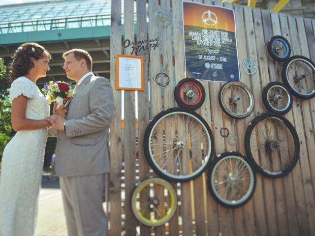 Современная британская свадьба