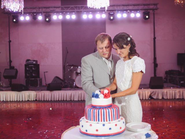 Свадебный торт на тематической свадьбе