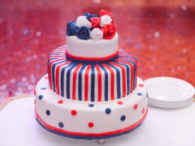 Торт на британской свадьбе