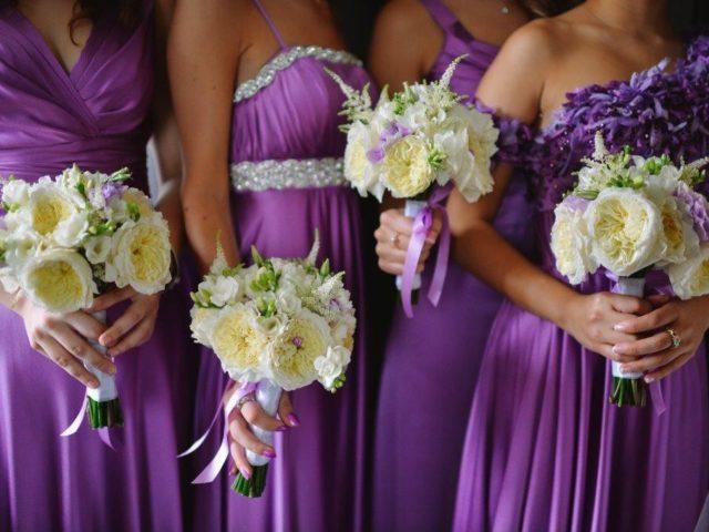 Подружки невесты в едином стиле