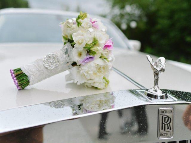 Ролс Ройс на свадьбе
