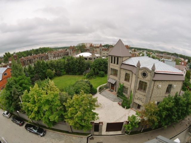 Немчиновка-парк отель. Фото с квадрокоптера.