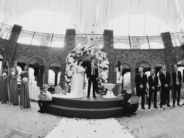 Выездная церемония бракосочетания в Немчиновке
