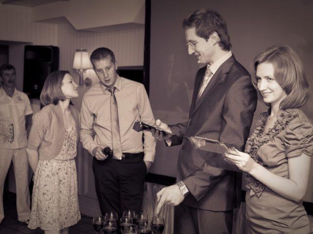 Интерактив на тематической свадьбе