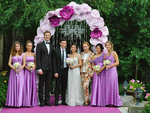 Современная свадьба в Немчиновке