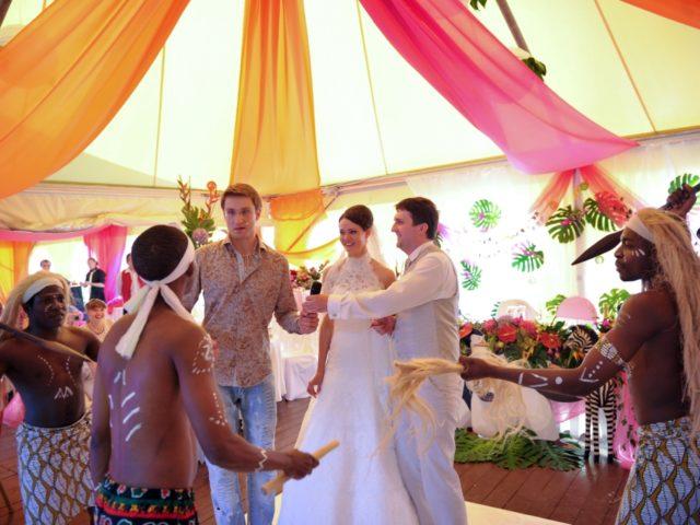 Свадьба в стиле Мадагаскар