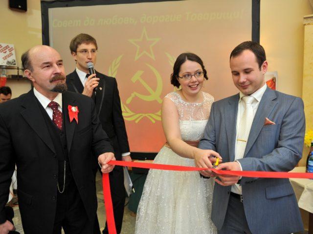 Свадьба в стиле Назад в СССР