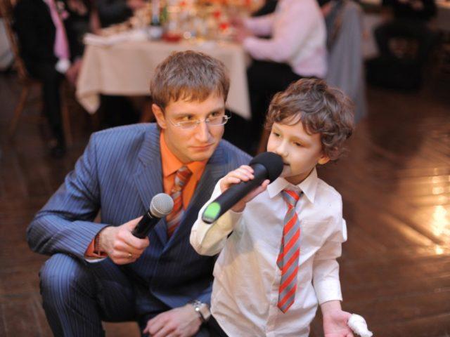 Ведущий Роман Акимов на свадьбе 2007 год
