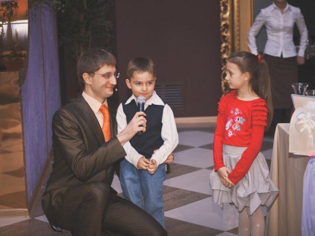 На свадьбе в 2007 году