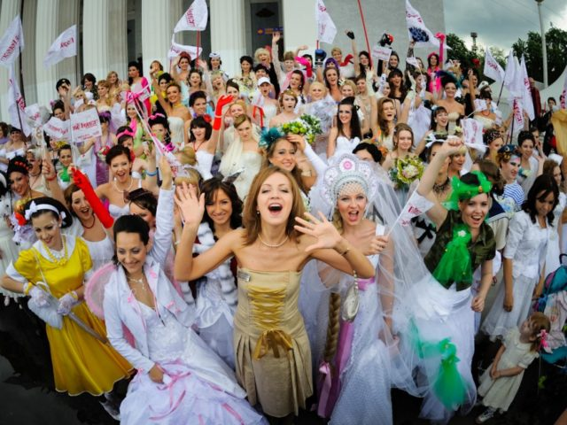 Парад невест -в центре организатор Екатерина Акимова