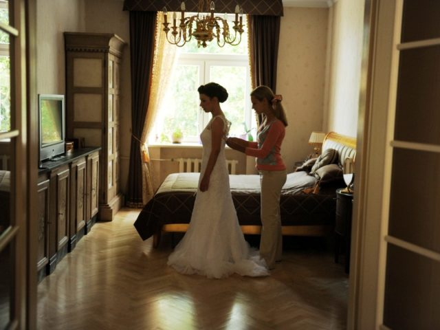 Утро невесты с организатором свадьбы