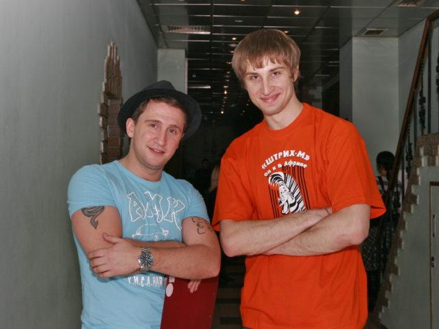 Оскар Кучера и Роман Акимов - ведущие Юбилея компании