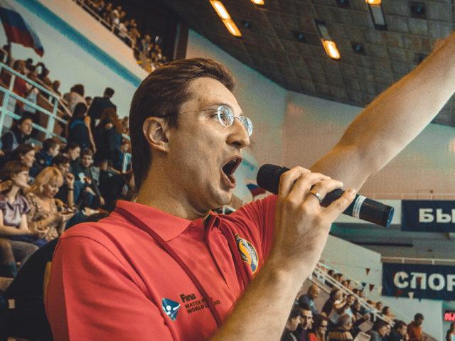 Ведение мероприятия в Олимпийском