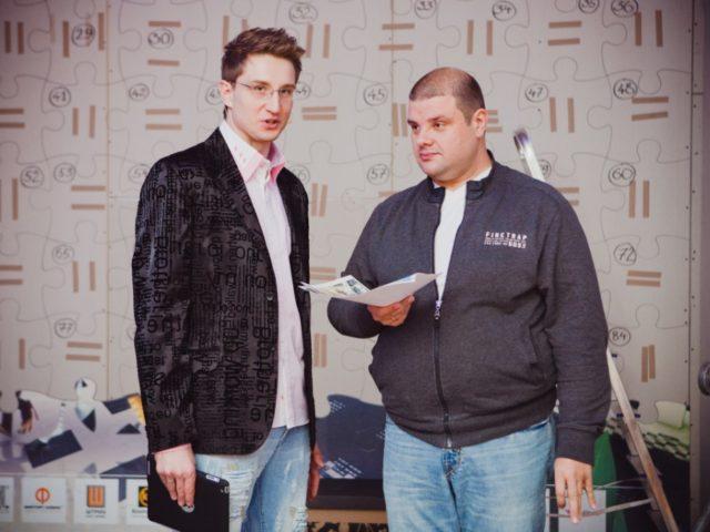 Роман Акимов и Александр Гришаев (