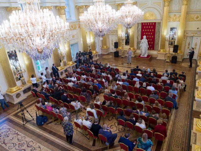 Федеральное мероприяте в Большом Царицынском ДВорце