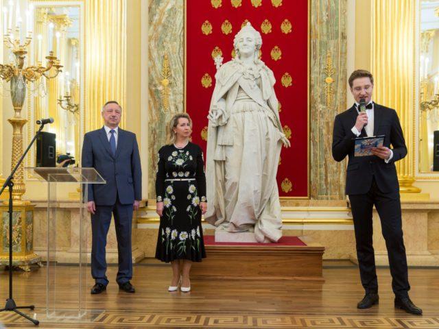 Торжественная церемония открытия. Светлана Медведева