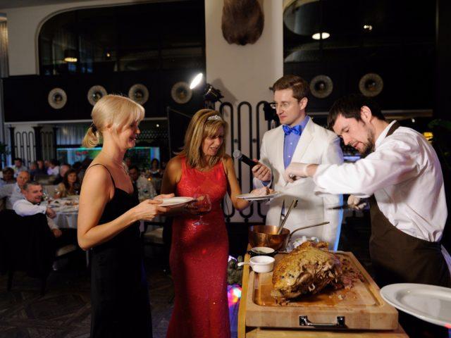 Кулинарный мастер класс на Юбилее