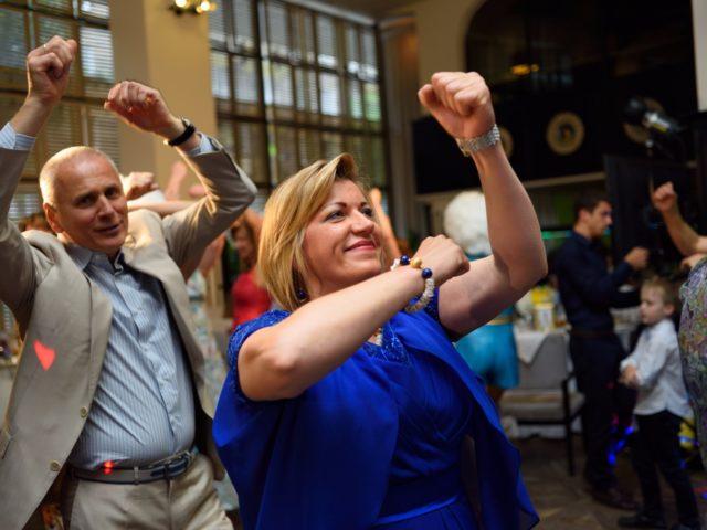 Танцы на мероприятии