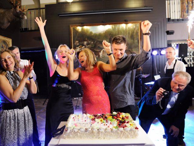Торт на Юбилее 50 лет