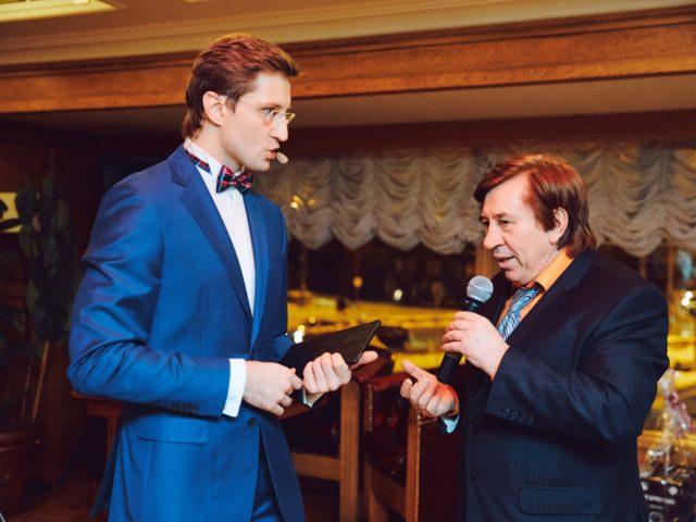 Роман Акимов и Лёня Голубков в дуэте