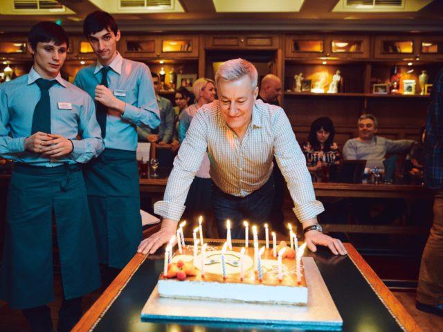 Торт на Юбилей 55 лет