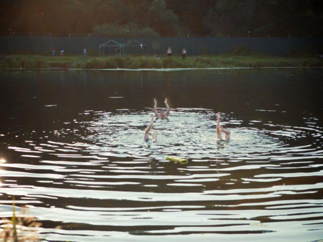 Падетруа в воде